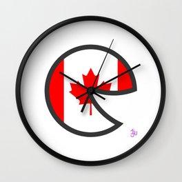Canada Smile Wall Clock