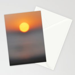 the sun, the sea and the sand Stationery Cards