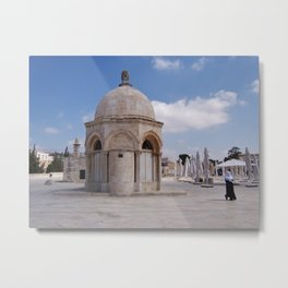 Temple Mount, Jerusalem Metal Print