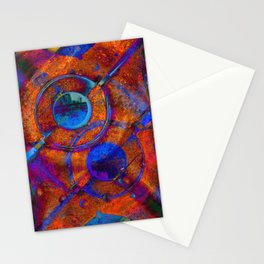 Saturated Mech Stationery Cards