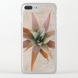 Mexico Succulent Clear iPhone Case
