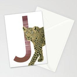 J - Jaguar Stationery Cards