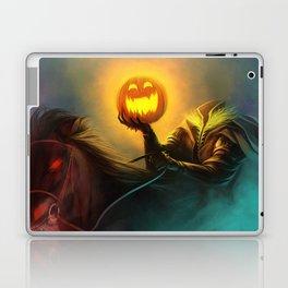 Headless Horseman: All Hallows' Eve Greetings Laptop & iPad Skin