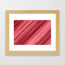 Ambient 33 in Red Framed Art Print
