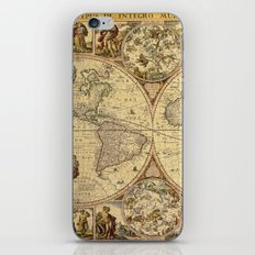 The puzzled world iPhone & iPod Skin