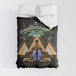 Egyptian Pyramids Alien Abduction UFO Comforters