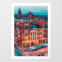 Over the Rhine Art Print