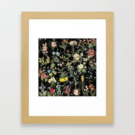 Millefleur Framed Art Print