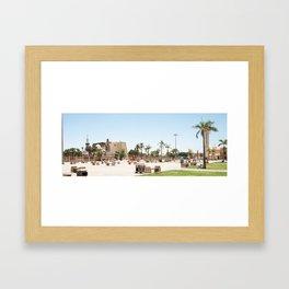 Temple of Luxor, no. 24 Framed Art Print