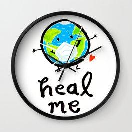 Heal Me  Wall Clock