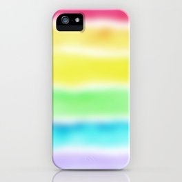 Blurry Rainbow! iPhone Case