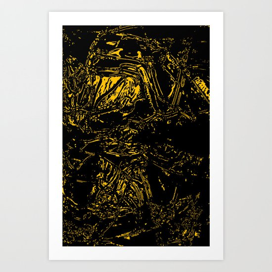 In the Void Art Print