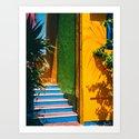 Caribbean Sherbert Casa by petrichorphoto
