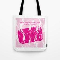 No027 My Fight Club minimal movie poster Tote Bag