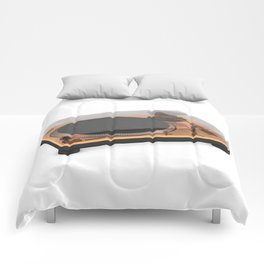 Golden Turntable Comforters