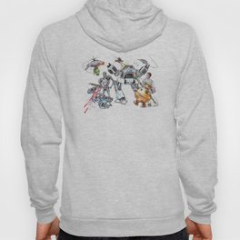 Bolts Vs. Bots Hoody