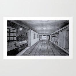 Breezeway Express Art Print
