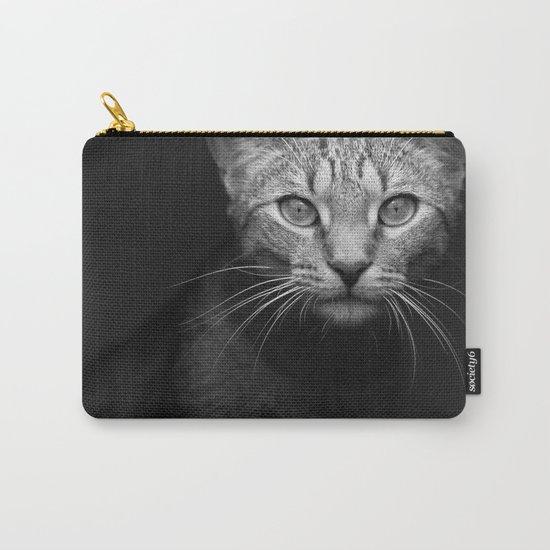 cat katz black white 4 Carry-All Pouch