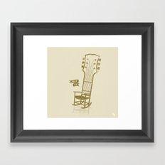 Rock On!  Framed Art Print