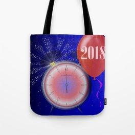 2018 Clock Tote Bag