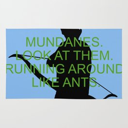 Alec Lightwood - Mundanes Rug