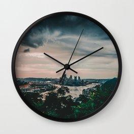 PGH #2 Wall Clock