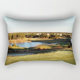 A Golfer's Paradise Rectangular Pillow