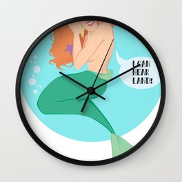 Land Jealousy Wall Clock