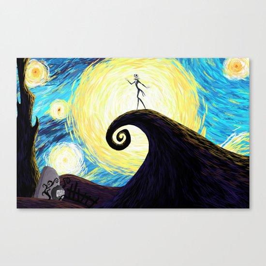Starry Nightmare Canvas Print