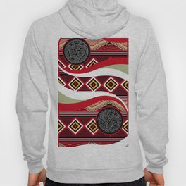 American Native Pattern Poster Hoody