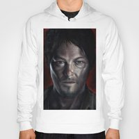 daryl Hoodies featuring Daryl by Voss fineart