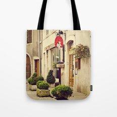 Le P'tit Paradis, Beaune France Storefront Tote Bag