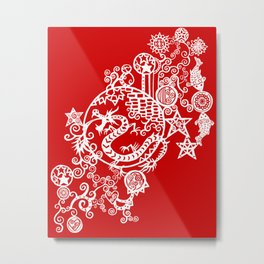 Pieces of China: Day of the Dragon Metal Print