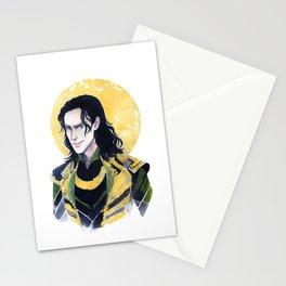 Loki of Asgard Stationery Cards