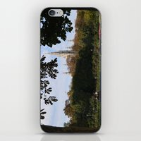 vienna iPhone & iPod Skins featuring vienna volksgarten by Lisa Carpenter