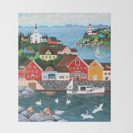 Swan's Cove Throw Blanket