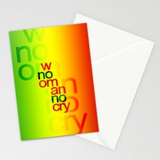 NO WOMAN NO CRY Stationery Cards