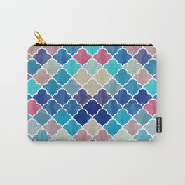 Watercolor Lovely Pattern VVXV Carry-All Pouch