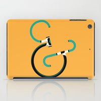bicycles iPad Cases featuring Typography & Bicycles by Matthew Fleming