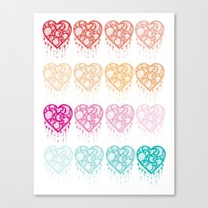 Heart Catcher - Fade Canvas Print