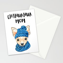 Chihuahua Mom  Stationery Cards