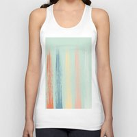 the strokes Tank Tops featuring Paint Strokes by AngelicaRoesler