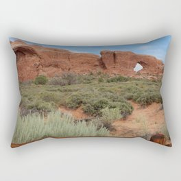 Vertical Arches National Park Rectangular Pillow