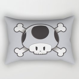 Toad Skull Rectangular Pillow