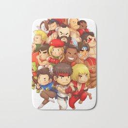 Street Fighter Bath Mat