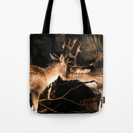 Deer Love Tote Bag