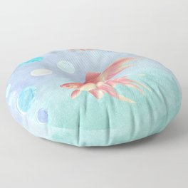 Around the bowl in Eighty seconds Floor Pillow