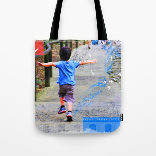learning to fly 02 Tote Bag
