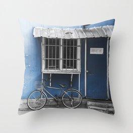 colorless shanghai 3 Throw Pillow