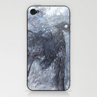 The Bearded Crow iPhone & iPod Skin